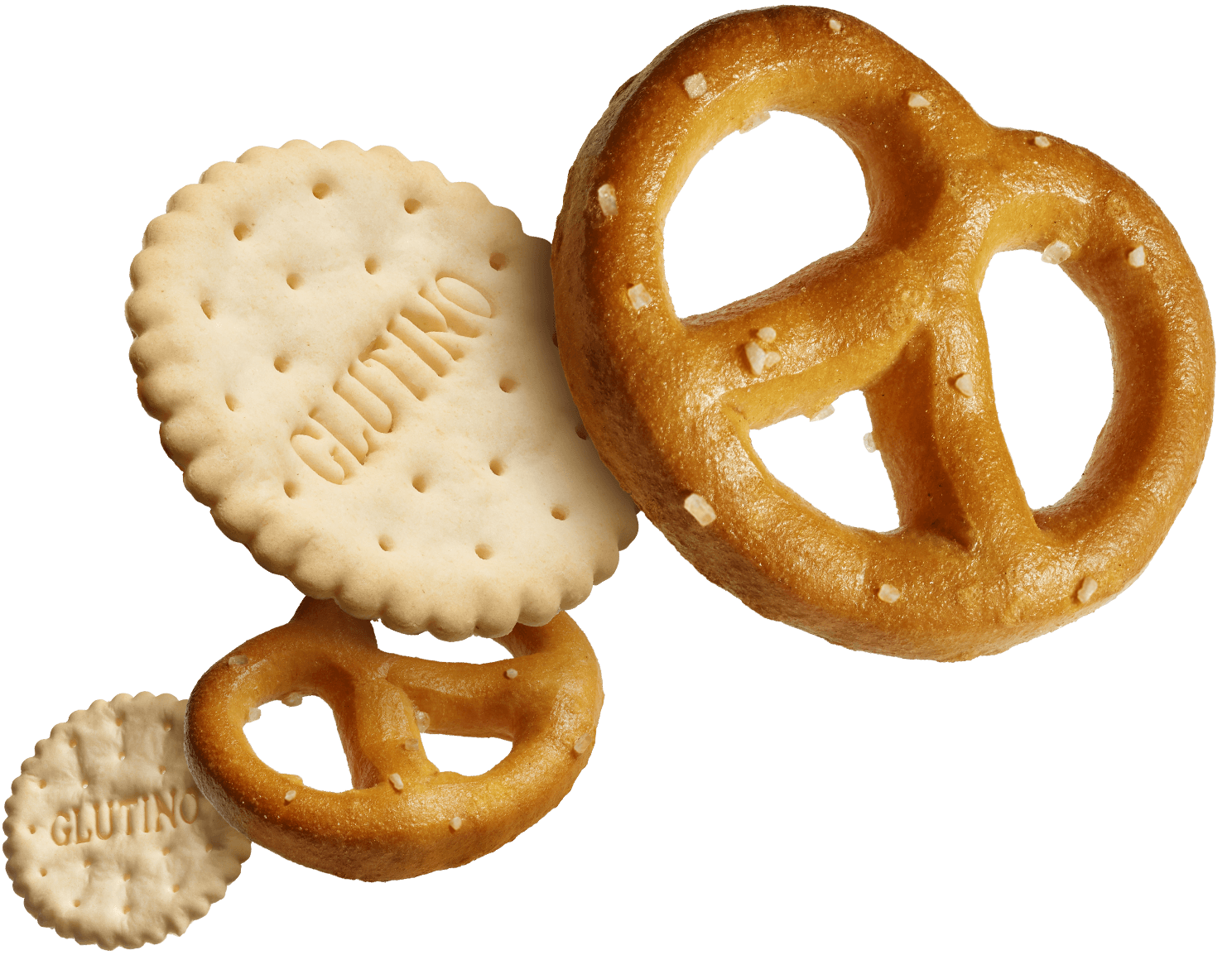 Pretzels and Crackers